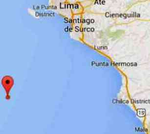 sismo Lima Chilca 27 feb 2015
