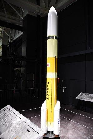H3 rocket model in Kakamigahara Aerospace Science Museum November 8 2019 02