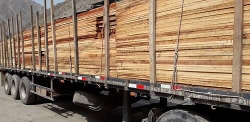 intervienen camion madera ilegal