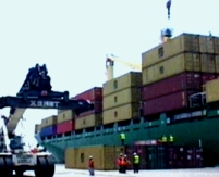 containers grua