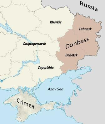 Donbass mapa Wikipedia