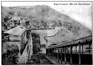 Chorrillos 1881, foto de Courret